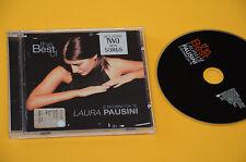 CD (NO LP ) LAURA PAUSINI BEST OF RITORNO DA TE 1°ST ORIG 2001 EX+ CON LIBRETTO