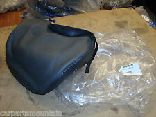 GENUINE VOLVO BLACK LEATHER SPEAKER HEADREST COVER PART NO:30618037 FITS MANY++