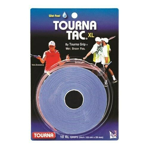 2Pack Unique Tourna Tennis Racquet Grip Gauze Tape-Black-1in x 30 Ft-Badminton
