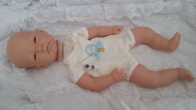 Cordiale Realistico Baby-doll Kit Celia Con Cucito In Arti + Occhi & Ciglia + Manichino Blu-mostra Il Titolo Originale