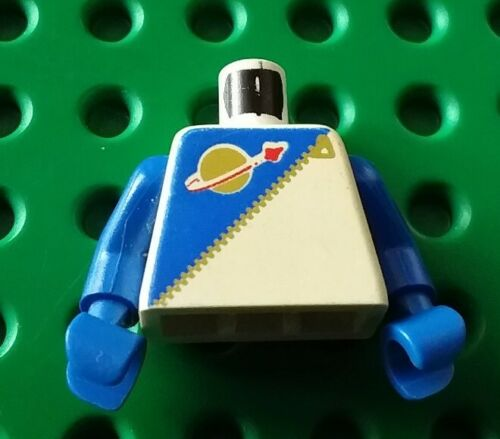 1620 6884 6703 6990 Lego Part 973p6cc01 Torso Space Blue Futuron
