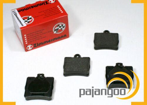Mercedes SLK R170 Zimmermann Bremsen Bremsbeläge Bremsklötze für hinten