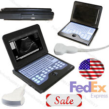 US Sell Portable Laptop Ultrasound Scanner Machine Digital Convex For Human New