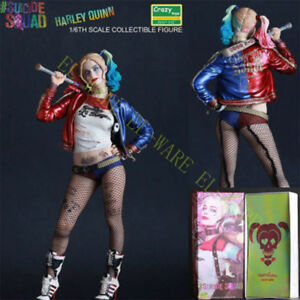 Crazy-Toys-DC-Comic-Harley-Quinn-12-039-039-Action-Figure-Model-1-6-Suicide-Squad-Gift