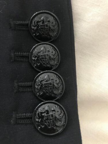 Work J Woman elegante Buttons Wool ~ Sz Jacket 2 ed Elegante Black Crew wqH6xOqgY