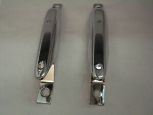 pair NEW 1967-1968 Mustang REAR Bumper Guard Pads right and left hand side
