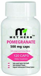 Metherb-Pomegranate-Extract-500mg-120-Capsules-100-Natural