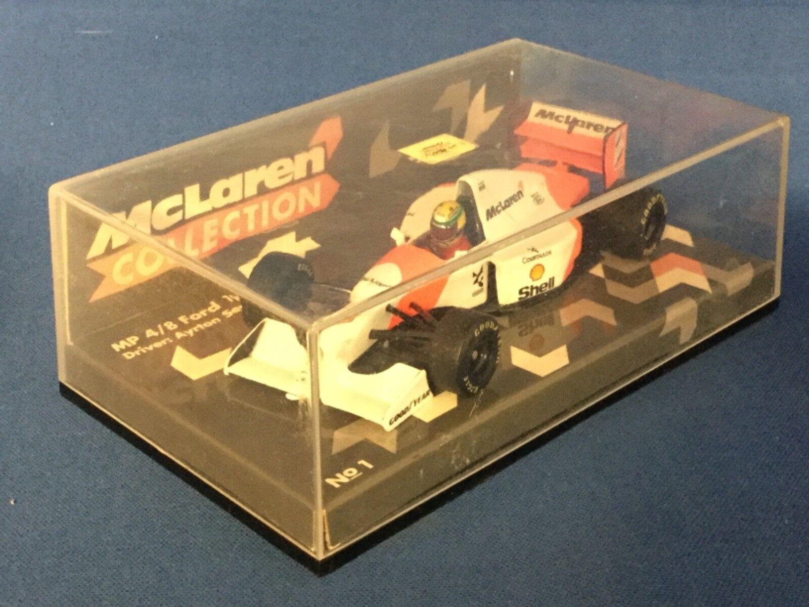 almacén al por mayor Minichamps McLaren F1 93 Senna Modelo Modelo Modelo de Coche Número de artículo 530 930008  el mas de moda