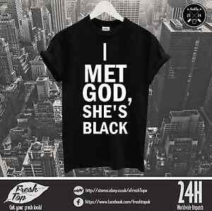 I-Met-God-She-Is-Black-T-Shirt-Religion-Blogger-Celine-Dope-Cara-Delevingne-Swag