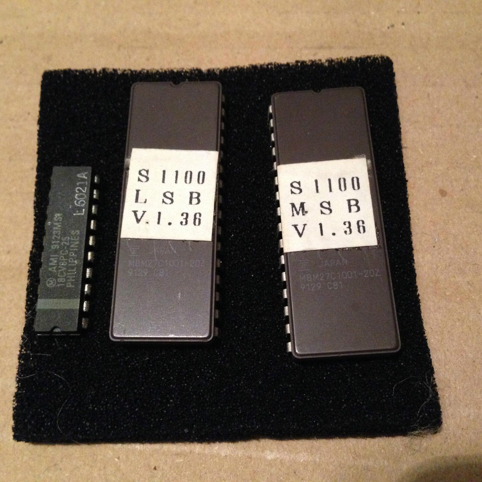 AKAI S1100 - SYSTEM V1.36  - EPROM - CAMPIONATORE, sampling