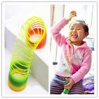 BUCA Colorful Rainbow Plastic Magic Slinky Glow-in-the-dark Children Classic Toy