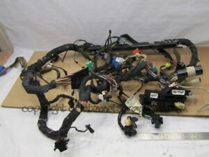 jeep grand cherokee zj zg 93 99 4 0 dash dashboard wiring harness rh ebay co uk
