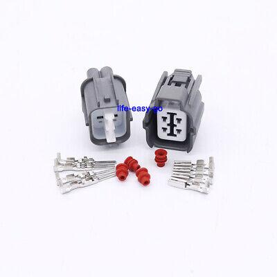 O2 Oxygen Sensor Male Connector Harness Kit 4 Wire Honda Civic Integra Accord