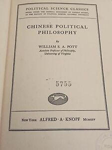 WILLIAM-S-A-POTT-CHINESE-POLITICAL-PHILOSOPHY-1925