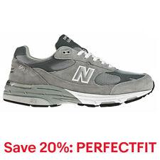新百倫女女式經典 993 跑步鞋舒適 993 灰色