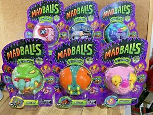 BACK IN BULK BABY!!! ALL SIX MADBALLS UGLY TOYS SERIES 2 2017 TCFC & ALL MOC!!!