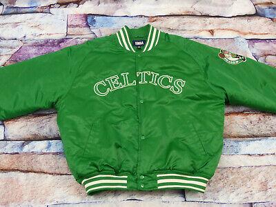 *boston Celtics Bomber Varsity Giacca *starter*quadrifoglio* Nba * Tg: Xl Xxl * Portare Più Convenienza Per Le Persone Nella Loro Vita Quotidiana
