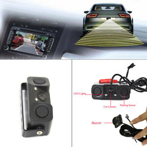 1-Set-Car-Reverse-Backup-Parking-Radar-Rear-View-Camera-With-Parking-Sensor-LY