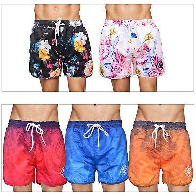 Crosshatch Mens Tattington Or Mythop Beach Trunks Floral Hawaiian Swim Shorts SorgfäLtige Berechnung Und Strikte Budgetierung