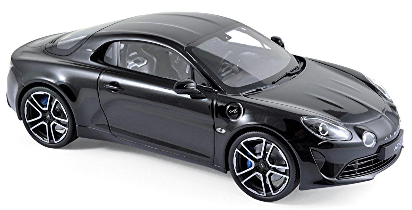 Renault Alpine A110 Premiere édition 2017 noir noir 1 18 Norev