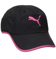 Buy PUMA Women s Black   White Greta Running Golf Baseball Cap One ... d400b4fa914