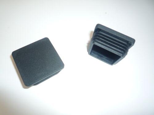 10 x Lamellenstopfen Deckel Kappen 60x40 mm WS 1,5-3mm Gittermattenzaun