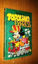 CLASSICI DISNEY 2a SERIE # 60 - TOPOLINO  EXPRESS - DICEMBRE 1981