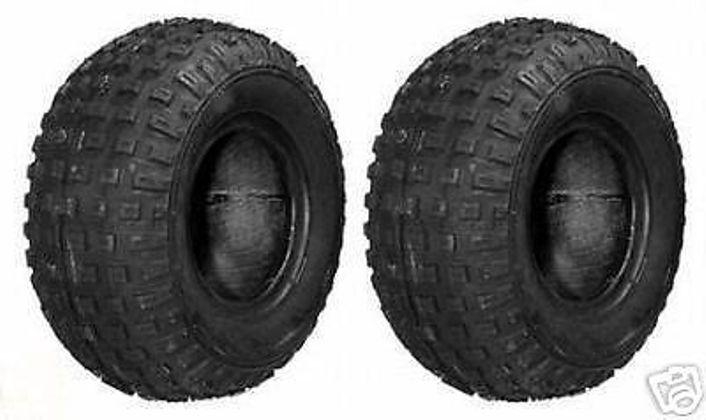 (2) 145 70-6 Tires for Go Kart GoCart ATV