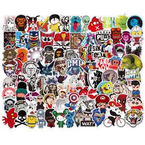 200-Skateboard-bomba-Vinilo-Laptop-Equipaje-Etiqueta-Calcomanias-Dope-Pegatinas-Lote-Cool