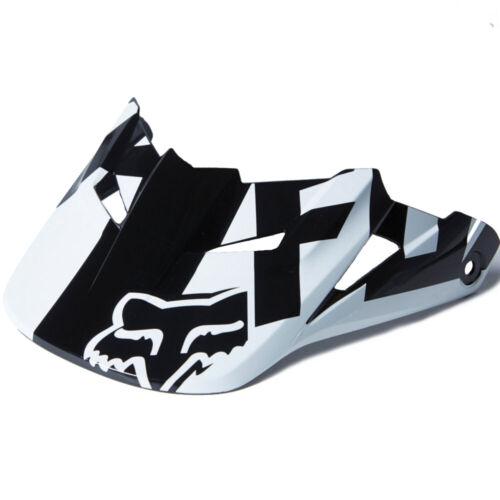 Fox Racing V1 Race 2015 Helmet Visor Black//White