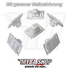 10x Zierleistenklammern Clip Halter Klammer für Audi A3 A4 A6 A8 #NEU# 4A0853825