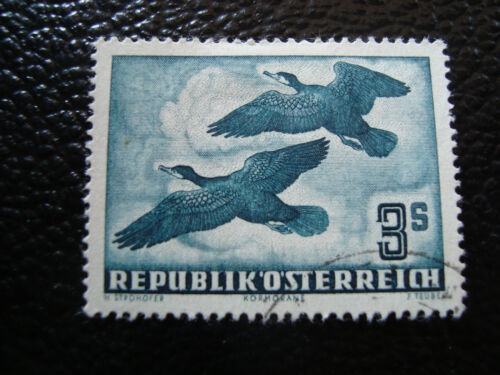 austria stamp yvert and tellier air n° 57 obl A5 stamp austria