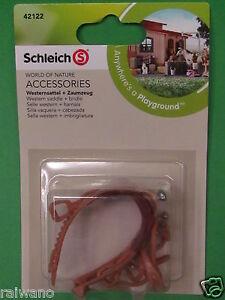 Schleich-42123-Farm-Life-Zubehoer-Springreitsattel-Zaumzeug-Neuheit-2014