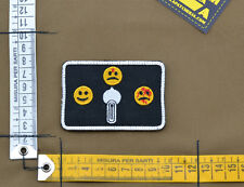 "Ricamata / Embroidered Patch ""Safe Semi Auto"" Black with VELCRO® brand hook"