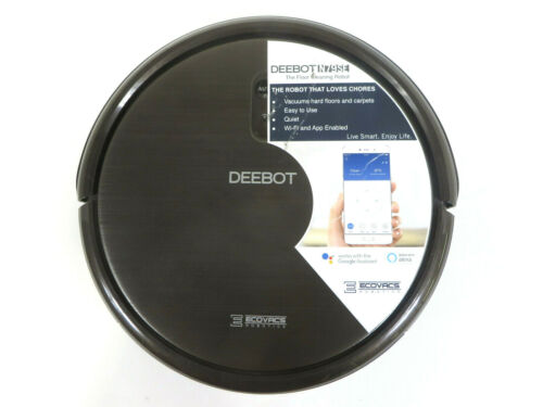 Ecovacs DEEBOT Robotic Vacuum Cleaner Model DN622.11 - As Is