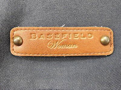 BASEFIELD Woman Umhängetasche Tasche Baumwolle blau