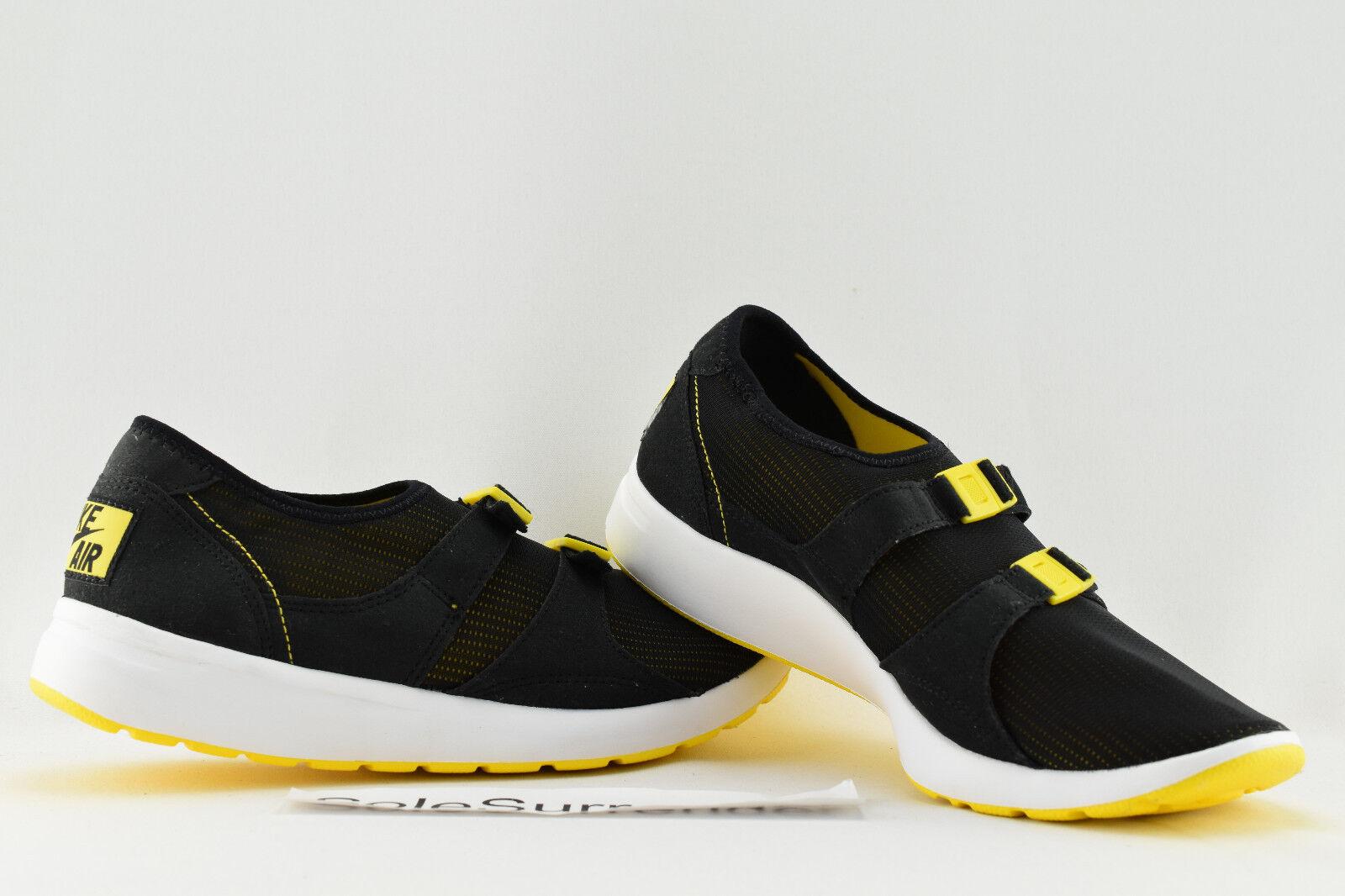 Nike Air Sock Racer OG - SIZE 9.5 - NEW - 875837-001 Black Tour Yellow White  Seasonal price cuts, discount benefits