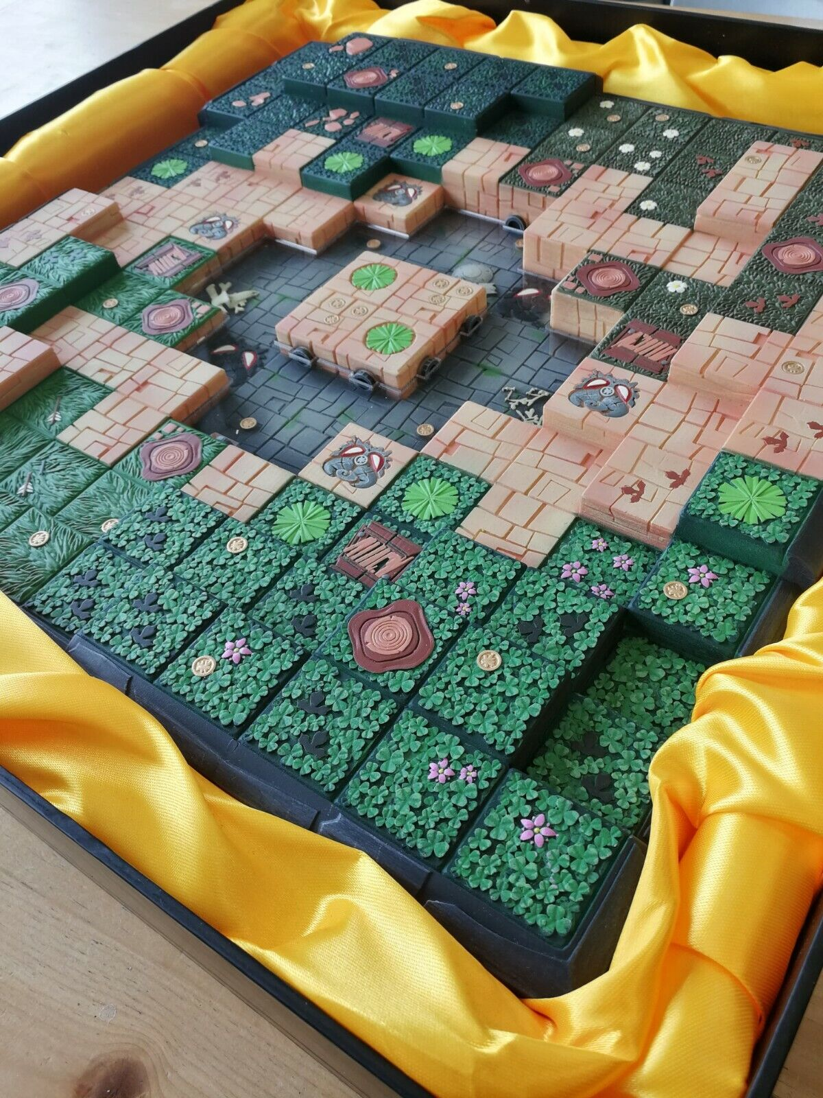 Krosmaster Resin championship gameboard -  limited 1000