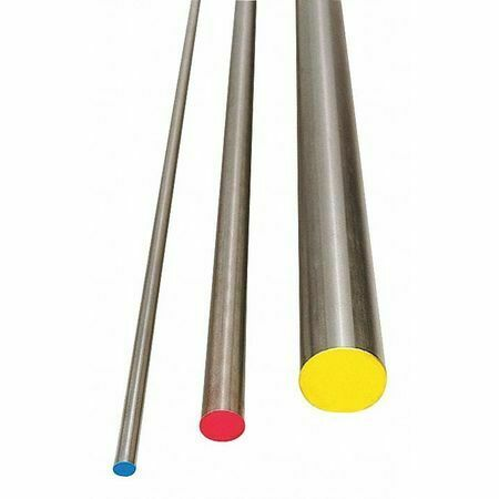 ZORO SELECT W1D1-186 Water Hard Drill Rod,W1,1-1//8,1.125 In