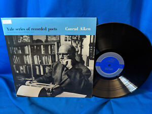 Conrad-Aiken-LP-Yale-Series-of-Recorded-Poets-Carillon-YP307-Poetry-Booklet