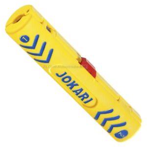 JOKARI-Coaxial-Entmanteler-Secura-Coaxi-No-1-fuer-TV-Coax-RG-58-59-PVC-Flex