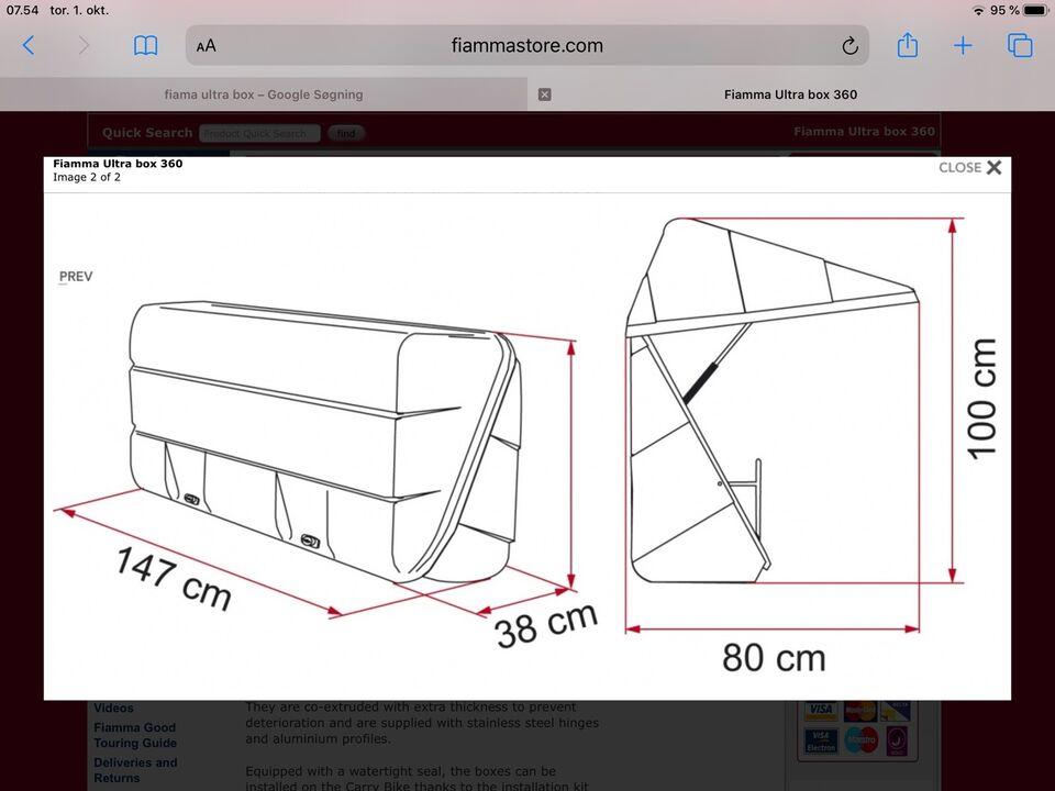 Fiamma 360 ultra box