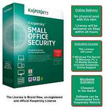 Kaspersky Small Office Security 1 File Server+10PC+10 Mob.Dev.(Online Delivery)
