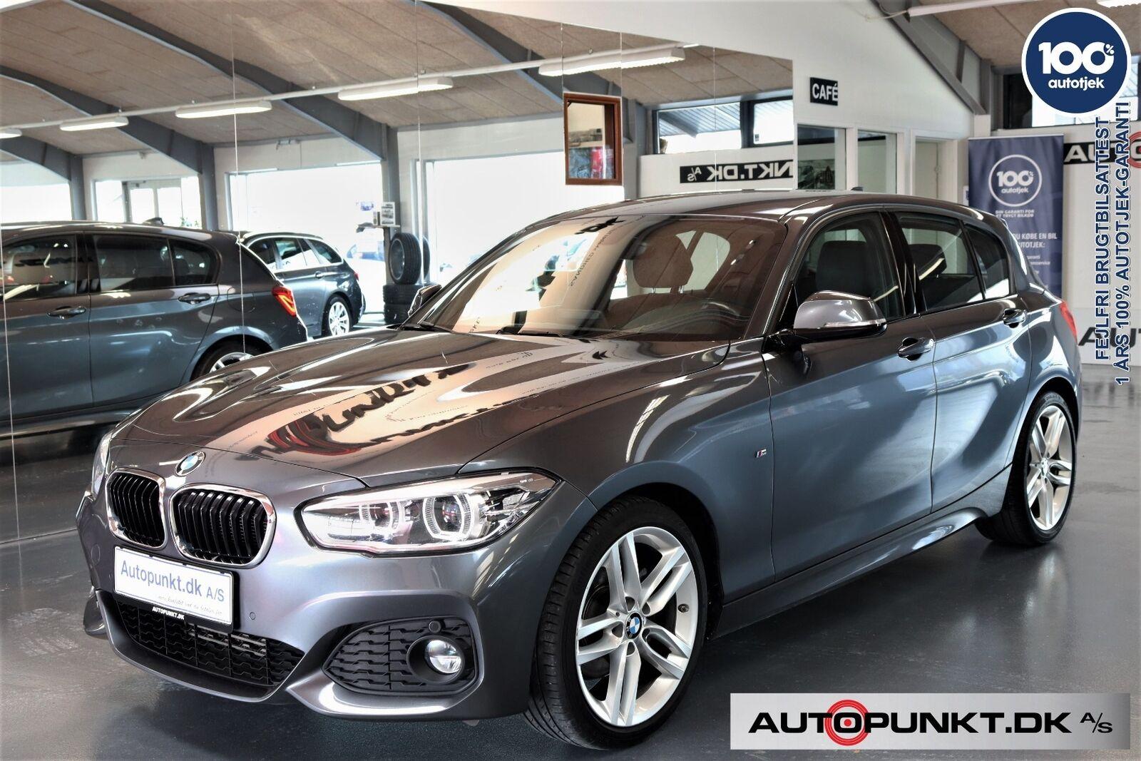 BMW 120d 2,0 M-Sport aut. 5d - 259.700 kr.