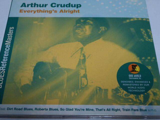 Arthur Crudup - Everything's Alright - NM (CD)