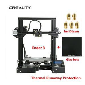 Creality-Ender-3-3D-Drucker-Printer-Glas-bett-220X220X250mm-DC-24V-5X-Duesens