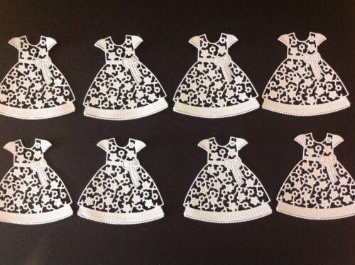 Die-cut dress x 8 in pack