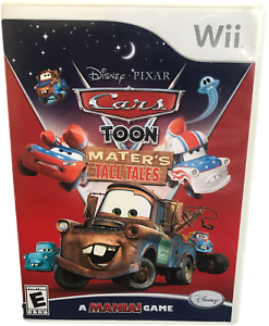 Cars TOON Maters Tall Tales Nintendo Wii Game