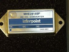 Brand New Interpoint DC to DC Converter & Switching Regulator Module #MHE2815SF