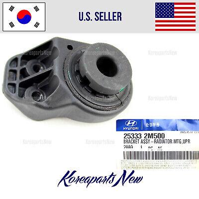 New OEM Upper Left Radiator Mount Insulator Bracket For 13-17 Hyundai Santa Fe